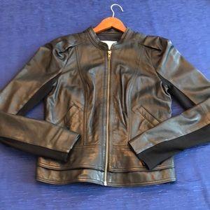 Fun flirty Moto Jacket. 100% Genuine Leather.